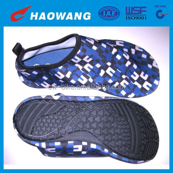 Fashionable hotsell retail neoprene beach shoes