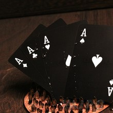 Custom 100% Plastic Poker Playing Card