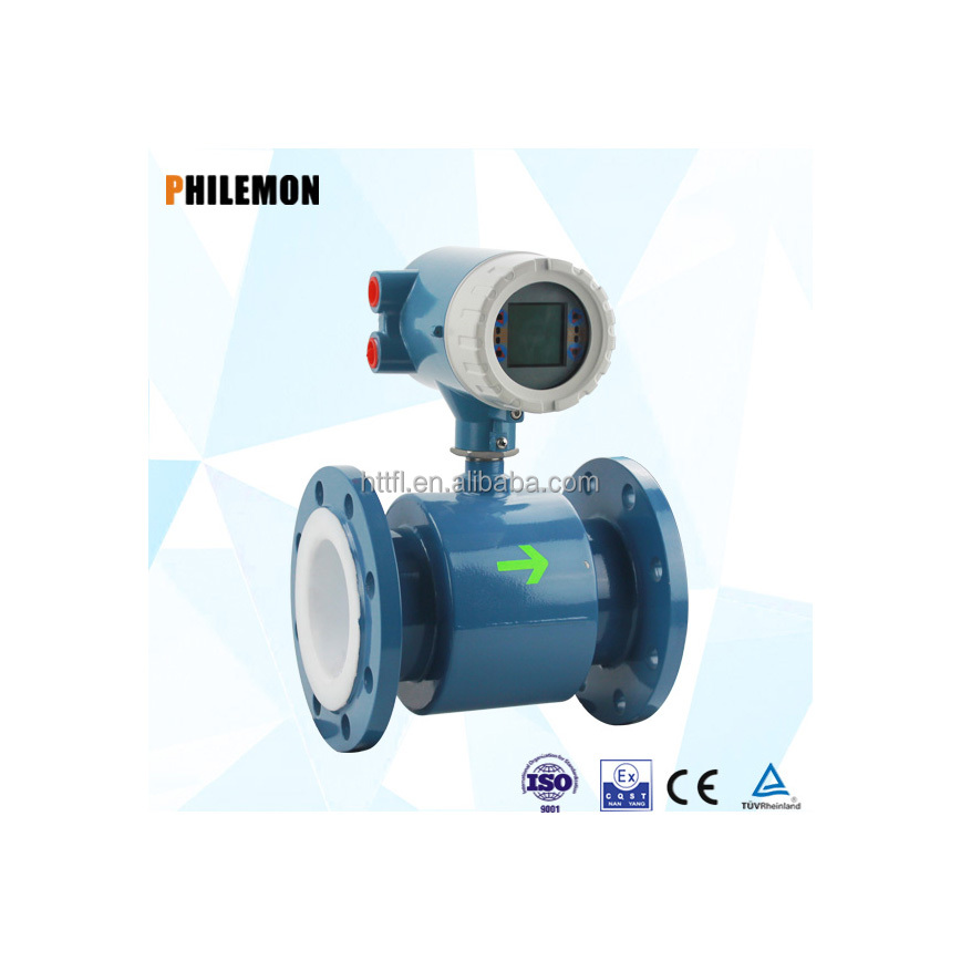 Kaifeng China high accuracy HC electrode electromagnetic sea water flow meter
