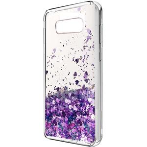 Liquid Glitter Sparkle Girl Women Cute Clear TPU Shockproof Hard PC Protective Case for Samsung Galaxy Note 8