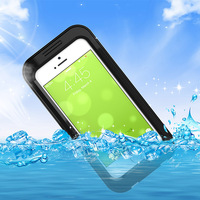 Hot sale PC with silicone waterproof phone case cell phone case for iphone 5 5s 6s 7