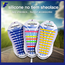 Electric led fancy silicone shoelaces for kids and adults