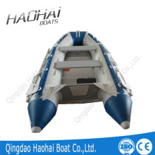 CE3.6m 5persons aluminum floor inflatable boat with motor