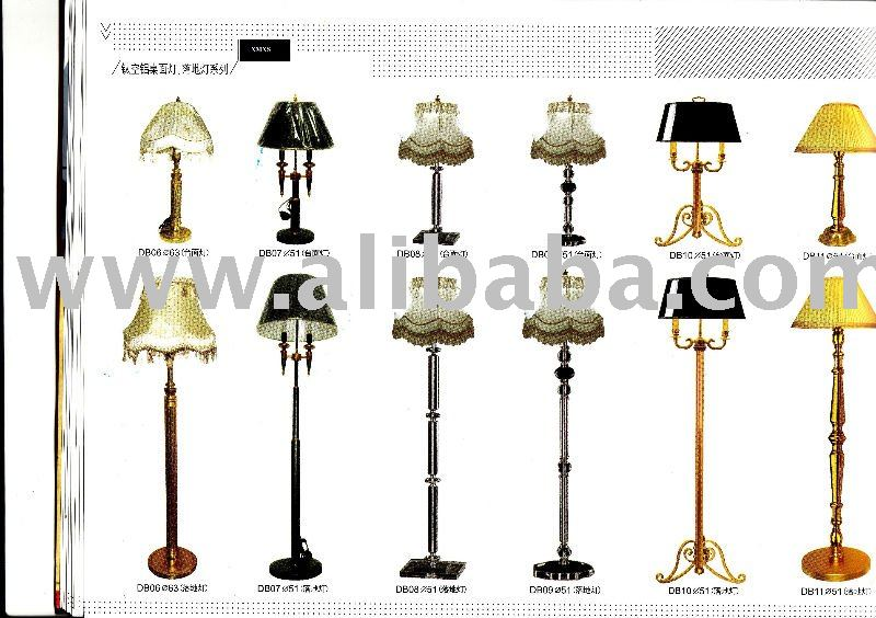 titanium aluminum alloy bed lamp & floor lamp Series