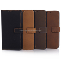 Standable Leather Case for Samsung galaxy s5 Retro leather Case for Samsung galaxy s5