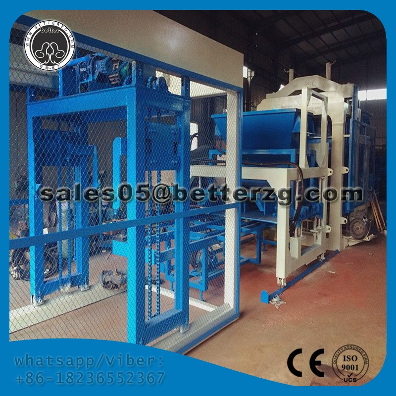 Henan Better Heavy Industry company limited brick production line ecomaquinas brick machine QT6-15