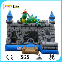 CILE 2015 Popular Halloween Toys Inflatable Bumper Castle Play Center