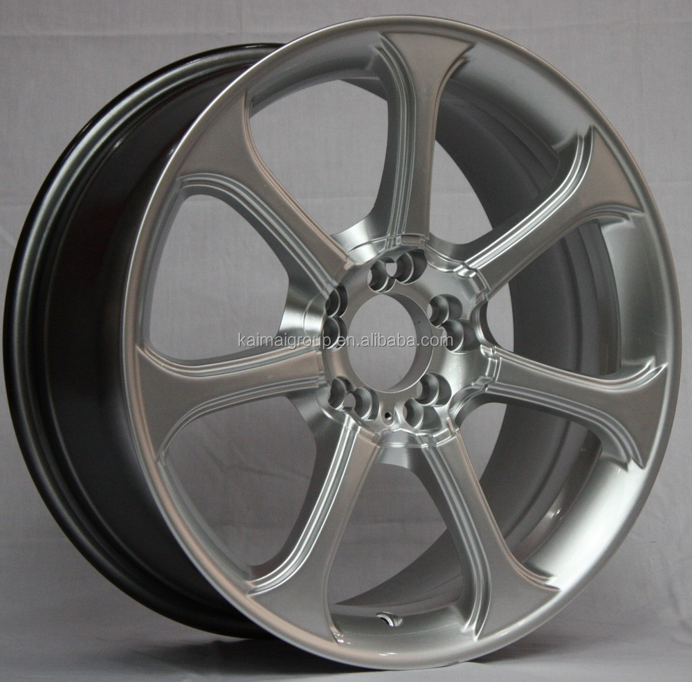 excellent chrome car Alloy Wheel rim size18x6.5 et 15 h/pcd 7x110
