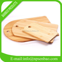 3 Pieces Eco-friendly Bamboo Cheese Board Set