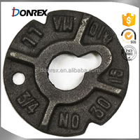 custom iron cast Malleable Iron Washers with ISO 9001 made in China