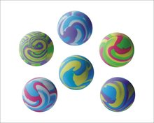 32mm Various styles marble rubber bouncing ball