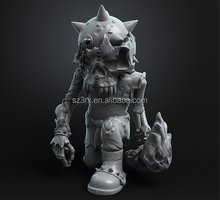 Custom Make Plastic Monster Vinyl Figure,OEM PVC Skull Animal Vinyl Figure Toys,Customized Plastic Collectible Figure toy