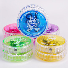 BSCI audit factory all size flashing plastic led <strong>yoyo</strong> with light