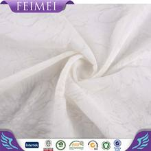 2016 Femei Knitting 50%Cotton 50%Poly CVC Burnout White Fabric for Sweater
