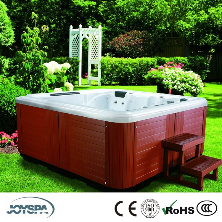 Highly Recommended Hot Tub Spas Model JY8012 5-Person Lounger Spa with 61 Stainless Steel Jets