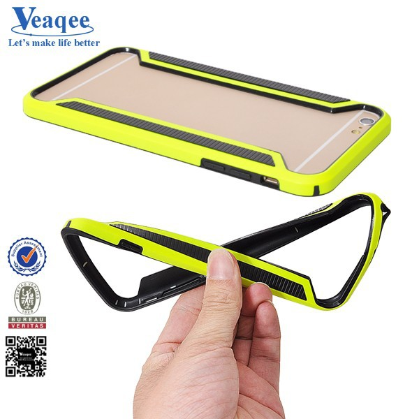 Veaqee New hot carbon fiber bumper case for iphone 6