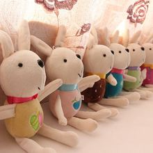 2pcs Cute Cartoon Angela rabbit baby plush doll for kids panda butterfly bee poupee Sleeping Dolls Babies Girls
