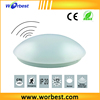 "Worbest AC100-277V PF>0.9 Sensor Distance 8m 11""15W motion sensor led ceiling emergency lighting CE&RoHS approved"