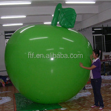 Promotional inflatable apple toy, inflatable apple, advertising inflatable apple model