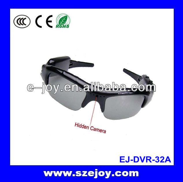 New arrival!!HD camera spectacles,mobile eyewear recorder,sunglasses camera extra 5 colors for choose&32A