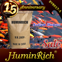 """HuminRich"" Shenyang Solubility 100% Natural Sodium Humate Fish Meal Animal Feed Factory"