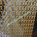 Golden Color Aluminum Hook Chain Curtain Stage Decoration