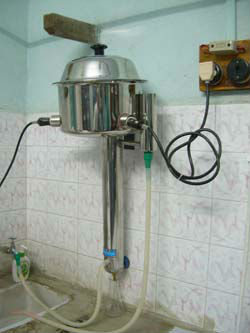 Distillation Unit in rubber raw material