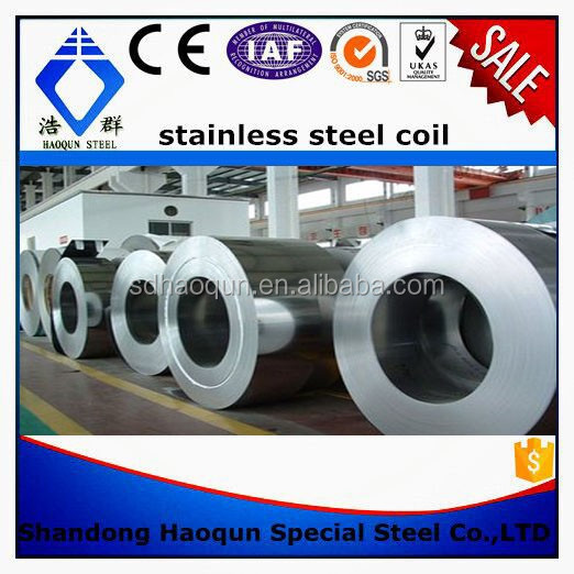 factory supplier TISCO 201 stainless steel coil For Kitchen Sinks