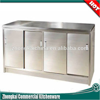 Commercial Stainless Steel Wall Storage,/Outdoor Stainless Steel Kitchen Cabinet