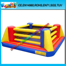 2015 Inflatable Boxing Ring Arena, Inflatable Wrestling Ring Court For Kids