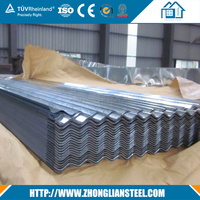 Africa Market Metal Roof Tile Galvanized Corrugated Steel Roofing Sheet
