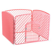 environmentally friendly non-toxic plastic foldable puppy pet play cage