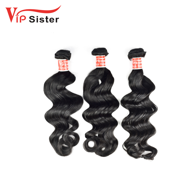 VIP Sister Wholesale Hair Salon Weaving Raw Unprocesse Grade 8A 7A 5A Brazilian Peruvian Indian Malaysian Deep Wave Hair Weaving