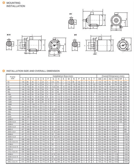 Y2 Series Electric Motor Horizontal And Vertical Mount Buy Ccc Ce Iso Electric Motor Mount