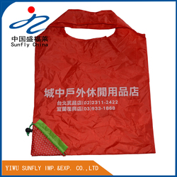 Large Capacity Polyester Women Folding Shopping Bag,190T Waterproof Polyester Material Tote Bag
