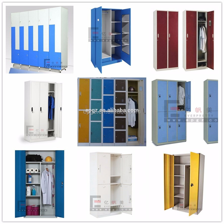 Wholesale Hotel Furniture 3 Door Bedroom Wardrobe, Customized Bedroom Wall Wardrobe Closet Design