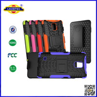 Hybrid Rugged Hard Case with Belt Clip Holster Stand Cover for Samsung Galaxy Note 4 laudtec