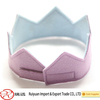 2016 the best quality felt princess crown for girls made in China