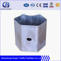Steel Galvanized Highway Safety Guardrail Spacer
