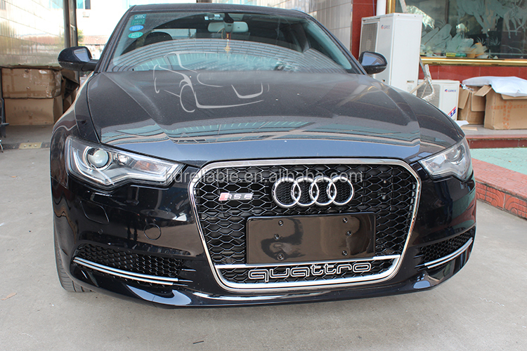 Car Grills For Audi A6 Rs6 A6 Chrome Front Grill For Audi