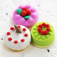 Fancy And Novelty Erasers Cartoon Eraser Ice Cream Shaped Toys