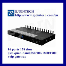 Reseller opportunities of Ejoin 16ports 128 goip voip phone gsm gateway