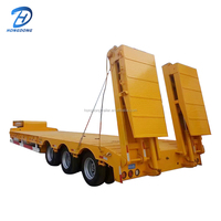Semi Trailer Low Bed From China