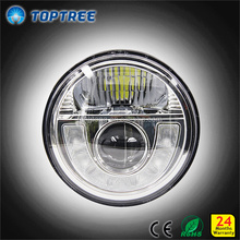 7 Inch Round LED Head Light Work Light with cr ee chip fog light