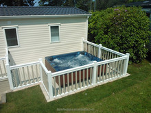 Hot sale! 7 person cheap hot tub gazebo