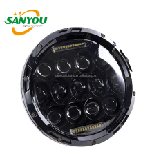 sanyou lighting 75w head light for off road light jeep wrangler 7 inch round led headlight