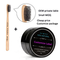 OEM Activated Charcoal Teeth Whitening Organic Powder combined charcoal toothbrush