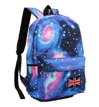 600d polyester backpack with all over printing