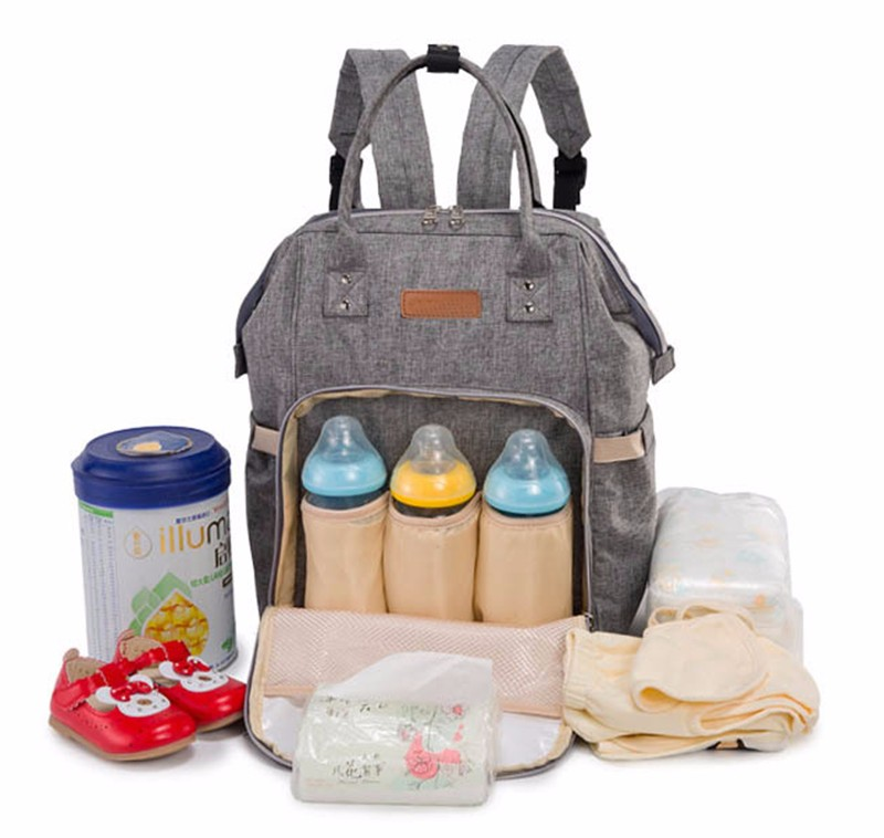 diaper bag -  multifunctional travel diaper bag for mother