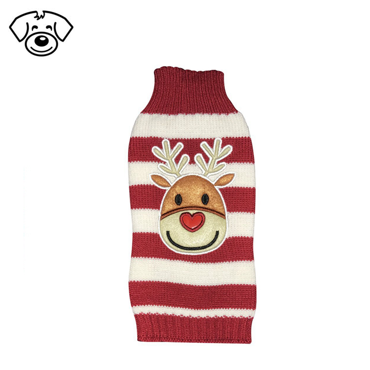 Holiday Sweaters Dog Sweaters New Year Christmas Sweater Pet Clothes for Small Dog and Cat